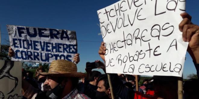 """""""QUIENES NO DEJAN PASAR SON LOS RURALISTAS EN REALIDAD"""""""